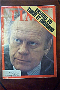 Time Magazine - January 20, 1975 - Gerald Ford