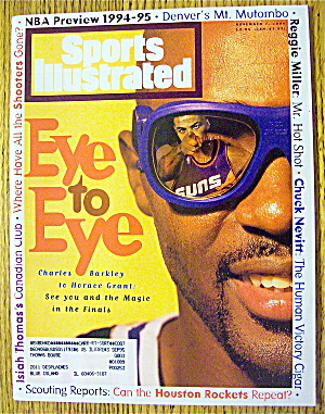 Sports Illustrated Magazine November 7, 1994 C. Barkley