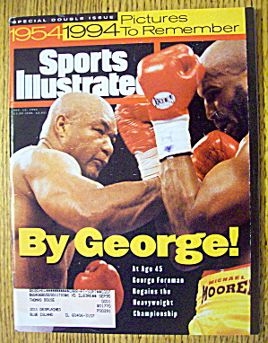 Sports Illustrated Magazine November 14, 1994 George