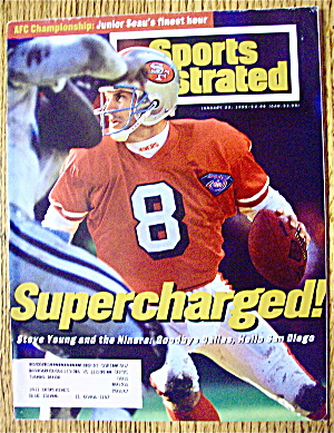 Sport Illustrated Magazine January 23, 1995 Steve Young