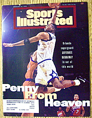 Sport Illustrated Magazine February 13, 1995 A Hardaway