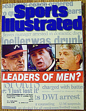 Sport Illustrated Magazine May 15, 1995 Leaders Of Men