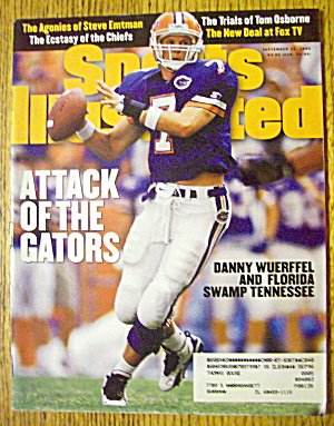 Sport Illustrated Magazine September 25, 1995 Wuerffel