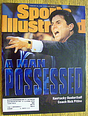 Sport Illustrated Magazine February 26, 1996 R. Pitino
