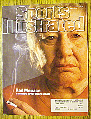 Sports Illustrated Magazine May 20, 1996 Marge Schott