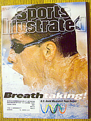 Sports Illustrated Magazine July 29, 1996 Tom Dolan (Image1)