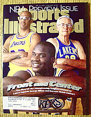 Sports Illustrated Magazine November 11, 1996 Shaquille