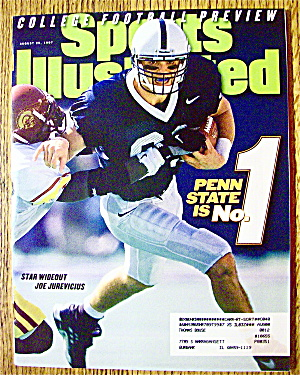 Sport Illustrated Magazine August 25, 1997 J Jurevicius