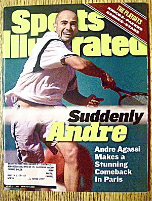 Sports Illustrated Magazine June 14, 1999 Andre Agassi (Image1)