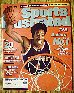 Sports Illustrated Magazine-November 15, 1999 C. Porter (Image1)