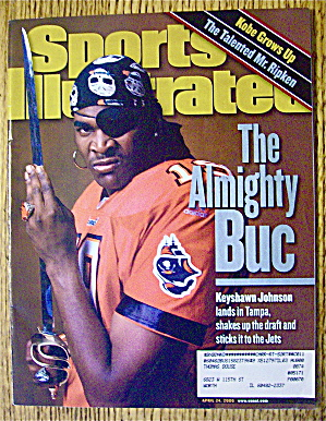 Sports Illustrated Magazine April 24, 2000 Keyshawn J.