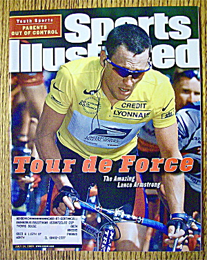 Sports Illustrated Magazine July 24, 2000 L. Armstrong (Image1)