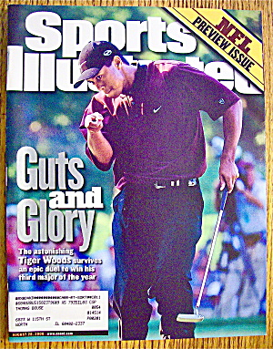 Sports Illustrated Magazine August 28, 2000 Tiger Woods (Image1)