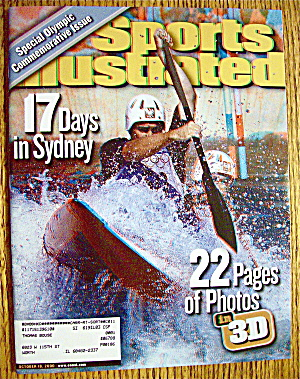 Sport Illustrated Magazine October 18, 2000 3 D Pages (Image1)