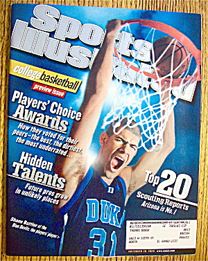 Sports Illustrated Magazine November 20, 2000 Shane B. (Image1)