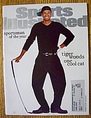 Sports Illustrated Magazine December 18, 2000 Tiger W.