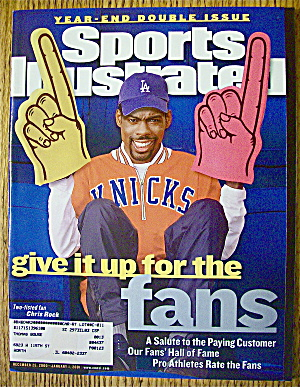 Sports Illustrated Magazine December 25, 2000 Chris R.