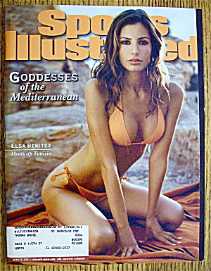 Sports Illustrated Magazine Winter 2001 Elsa Benitez