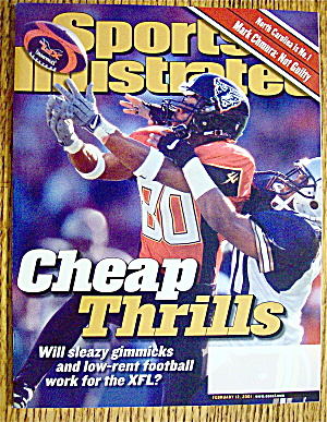 Sports Illustrated Magazine February 12, 2001 Mark C.