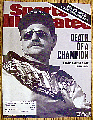 Sports Illustrated Magazine February 26, 2001 Dale E.
