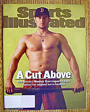 Sports Illustrated Magazine March 5, 2001 Nomar G