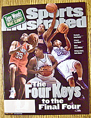 Sports Illustrated Magazine April 2, 2001 Four Keys