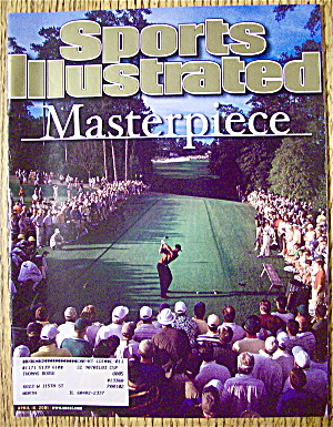 Sports Illustrated Magazine April 16, 2001 Tiger Woods (Image1)