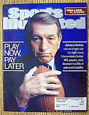 Sports Illustrated Magazine May 7, 2001 Johnny Unitas