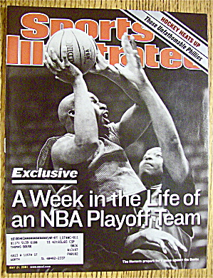 Sport Illustrated Magazine May 21, 2001 Nba Playoff