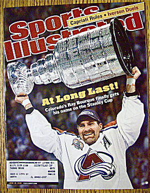 Sport Illustrated Magazine June 18, 2001 Ray Bourque