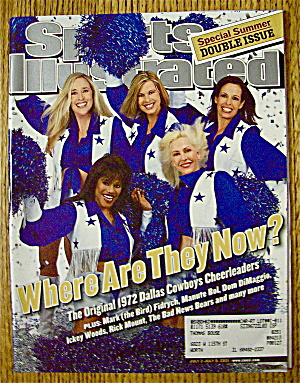 Sport Illustrated Magazine July 2-9, 2001 Cheerleaders