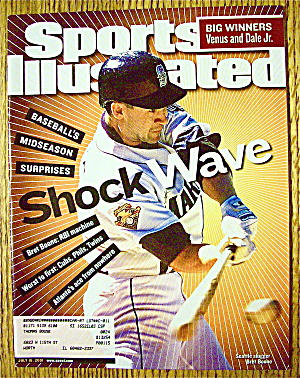 Sport Illustrated Magazine July 16, 2001 Bret Boone