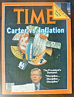 Time Magazine-march 24, 1980-carter Vs. Inflation