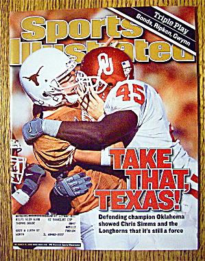 Sports Illustrated Magazine October 15, 2001 Texas (Image1)