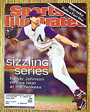 Sports Illustrated Magazine November 5,  2001 Randy J. (Image1)