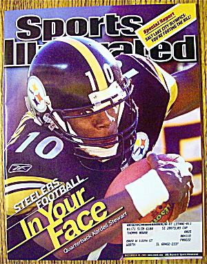 Sports Illustrated Magazine December 10, 2001 Kordell S (Image1)