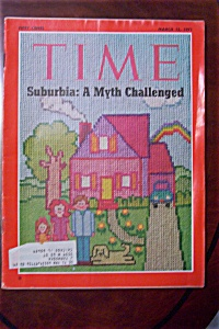 Time Magazine - March 15, 1971 - Suburbia