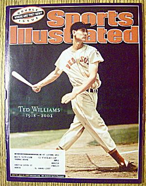Sport Illustrated Magazine July 15-22, 2002 Ted William (Image1)