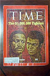 Time Magazine - March 8, 1971 - Frazier & Ali