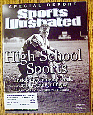 Sports Illustrated Magazine November 18, 2002 H S Sport (Image1)