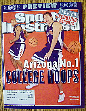 Sports Illustrated Magazine November 25, 2002 Arizona (Image1)