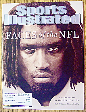 Sports Illustrated Magazine December 9, 2002 Faces-NFL (Image1)