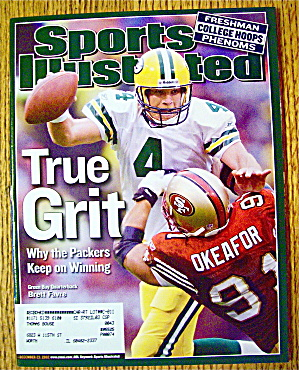 Sports Illustrated Magazine December 23, 2002 B. Favre (Image1)