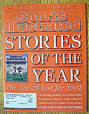 Sports Illustrated Magazine Dec 30, 2002-Jan 6, 2003 (Image1)