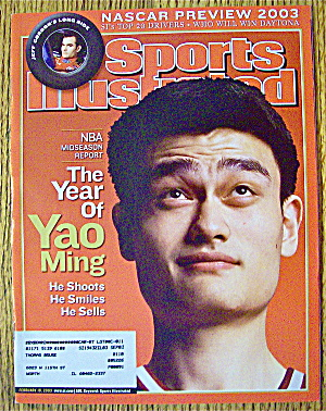 Sports Illustrated Magazine February 10, 2003 Yao Ming (Image1)