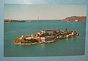 Alcatraz Island In San Francisco Bay Postcard (Image1)