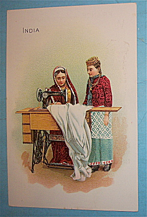 Singer Sewing Card (India)