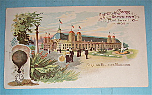 Foreign Exhibits Building (Lewis & Clark Expo 1905) (Image1)