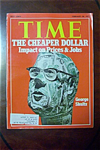 Time Magazine - February 26, 1973 - George Shultz