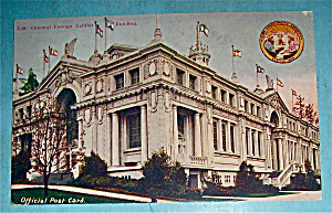 Oriental Foreign Exhibit Building Postcard-Alaska Expo (Image1)